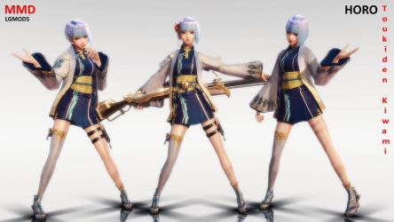 [MMD DL] TOUKIDEN KIWAMI : HORO (Download) by LGMODS