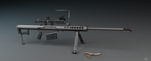 Barrett M107 by CentPL