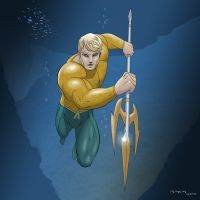 King Aquaman by arunion