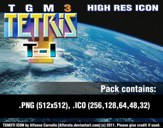 TETRIS: TGM Ti - High Res Icon by Alforata