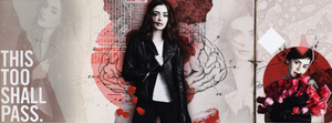 Facebook Cover / Lily Collins by ekinwinchester