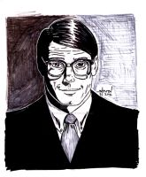Christopher Reeve as Clark Kent by StevenWilcox