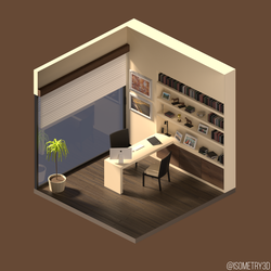 A day at the office by Isometry3D