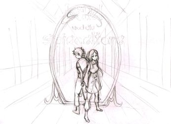 Cover illustration step by step by Livanya