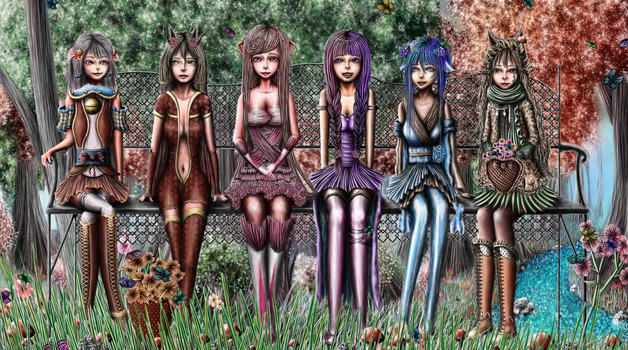 May Day: Butterfly Woods by AlterIris