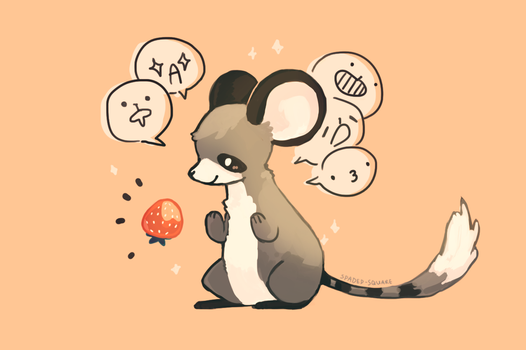 Raccoon mouse by spaded-square