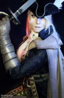 Bloodborne - Vileblood Noble by icequeenserenity