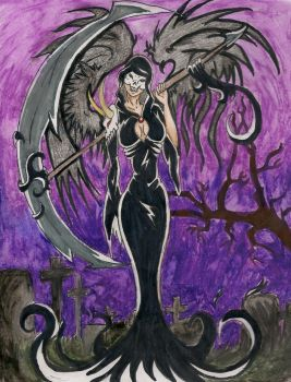 angel of death by Jazzy-girl21