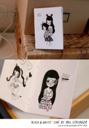 Promo Black And White Zine by perfectnoseclub