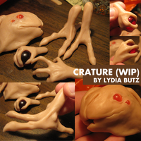 Creature WIP by Girl-on-the-Moon