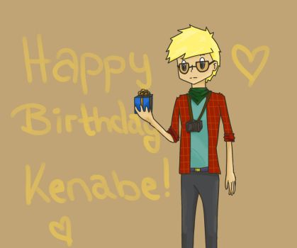 Happy Birthday, kenabe ! by NellyPixit