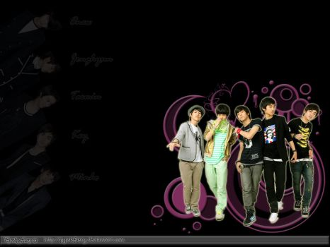 SHINee wallpaper by PynkFaery