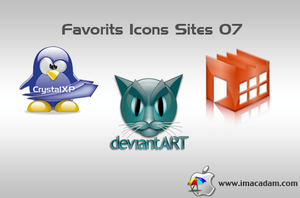 Favorits Icons Sites 07 by isb