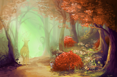 Ghibli Path by Guava-Pie