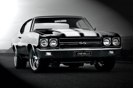 Old School Chevelle by StachRogalski