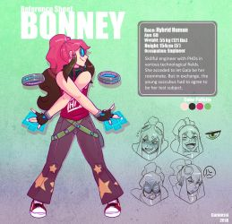 Bonney Reference Sheet by Carmessi