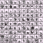 Johto Dex RGB Sprites Grey by Axel-Comics