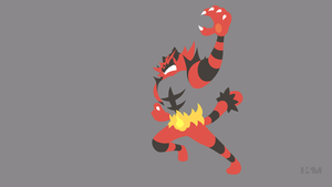 Incineroar by Krukmeister