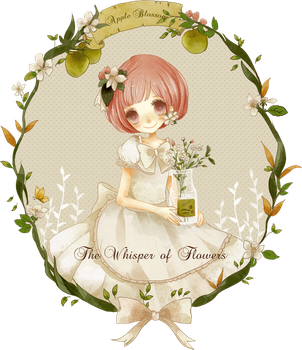 Apple Blossom by glass-dolly