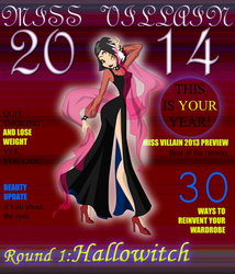 Miss Villain 2014 Round 1 - Electra by sonicgirl313