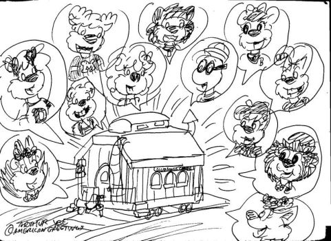 Loud House Caboose by Artytoons