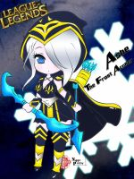 Chibi Ashe By Np by NPrinny