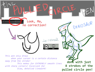 Pullcircle Brush for FireAlpaca/MediBang Paint!! by relma2
