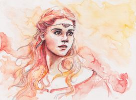 Clara of Sherwood by MariaBruggeman