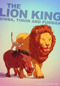 The Lion King BADASS by Tohad