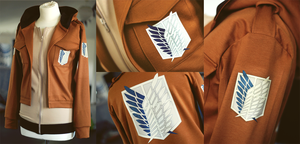 ATTACK ON TITAN hoodie by envylicious