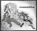 A case of the Mondays... by tiguybou