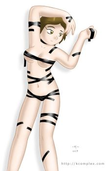 Electrical tape Aphrodite by kcomplex
