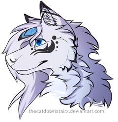FrostFeather Headshot by TheCatDownstairs