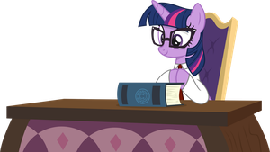 Twilight Sparkle - Head of School by CaliAzian
