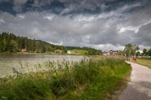Seefeld at the lake - Austria by Rikitza