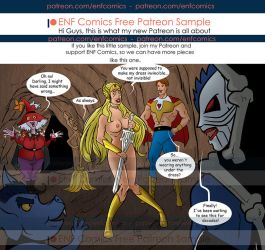 She Ra ENF: Madame Razz misspelled by TheRafaLee