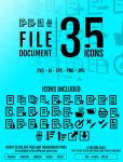 Document /File : 35 icons by doghead
