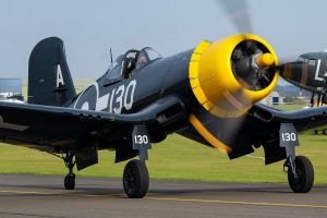 Goodyear FG-1D Corsair by Daniel-Wales-Images