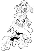 Supergirl Inks by handtoeye