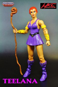 Custom TEELA-NA (Masters of the Universe Classics) by hunterknightcustoms