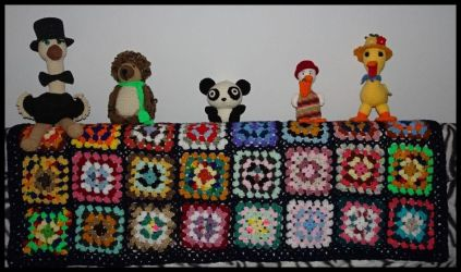 Afghan and critters by slavetochis