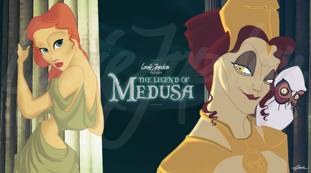 The Legend Of Medusa: Character montage by mrlouiejordan