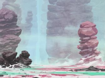 Background painting by Konjur
