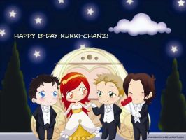 Happy b-day Kukki by KamiDiox