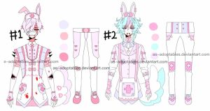 Nurse bunny boy adoptables CLOSED by AS-Adoptables