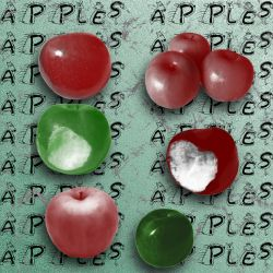 Apple Brushes by dazzle-textures