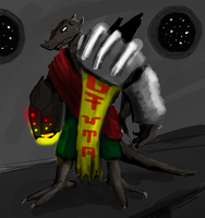 Nastor the Space-faring Dragon by HenryBiscuitfist