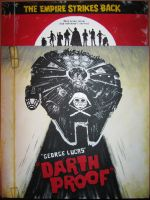 Star Wars / Death Proof Painting by Dominiquefx