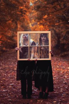 Sister's Of Autumn by EclipxPhotography