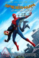 New Final Spider-Man: Homecoming Poster by Artlover67